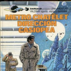 Comics : VALERIAN. AGENTE ESPACIO TEMPORAL. Nº9. METRO CHATELET DIRECCIÓN CASIOPEA. ED. GRIJALBO 1982. Lote 231128075