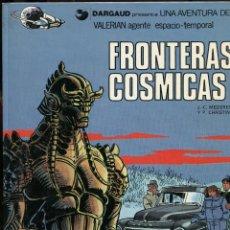 Comics : VALERIAN. AGENTE ESPACIO TEMPORAL. Nº13. FRONTERAS CÓSMICAS. GRIJALBO 1989. Lote 231128540