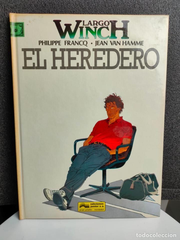 LARGO WINCH - Nº 1 - EL HEREDERO - FRANCQ, VAN HAMME - GRIJALBO - TAPA DURA (Tebeos y Comics - Grijalbo - Largo Winch)