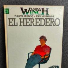 Cómics: LARGO WINCH - Nº 1 - EL HEREDERO - FRANCQ, VAN HAMME - GRIJALBO - TAPA DURA. Lote 231208420