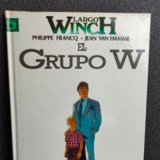 Cómics: LARGO WINCH - Nº 2 - EL GRUPO W - FRANCQ, VAN HAMME - GRIJALBO - TAPA DURA. Lote 231208610