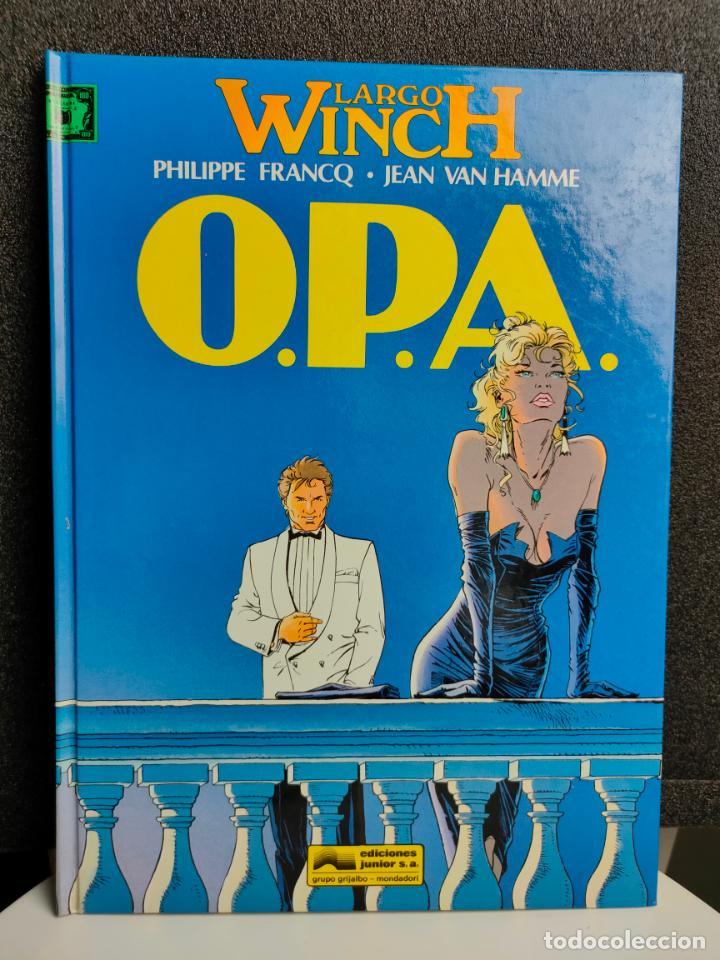 LARGO WINCH - Nº 3 - O.P.A. - FRANCQ, VAN HAMME - GRIJALBO - TAPA DURA (Tebeos y Comics - Grijalbo - Largo Winch)