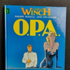 Cómics: LARGO WINCH - Nº 3 - O.P.A. - FRANCQ, VAN HAMME - GRIJALBO - TAPA DURA. Lote 231208900