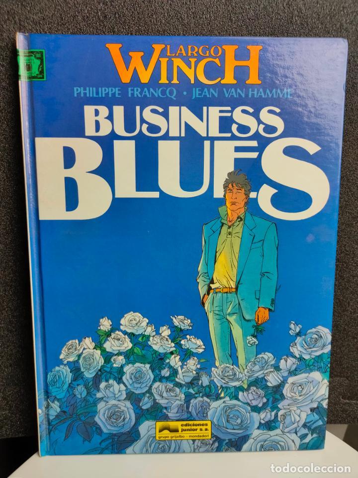 LARGO WINCH - Nº 4 - BUSINESS BLUES - FRANCQ, VAN HAMME - GRIJALBO - TAPA DURA (Tebeos y Comics - Grijalbo - Largo Winch)