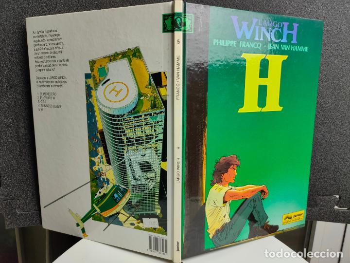 Cómics: LARGO WINCH - Nº 5 - H - FRANCQ, VAN HAMME - GRIJALBO - TAPA DURA - Foto 2 - 231209280