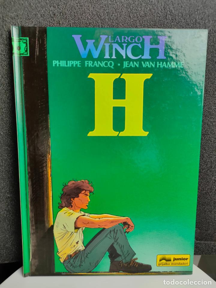 LARGO WINCH - Nº 5 - H - FRANCQ, VAN HAMME - GRIJALBO - TAPA DURA (Tebeos y Comics - Grijalbo - Largo Winch)
