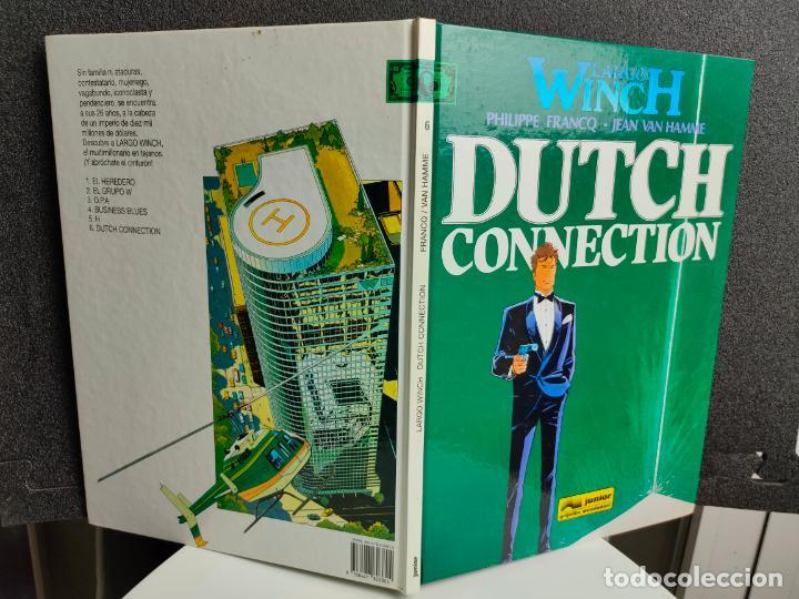 Cómics: LARGO WINCH - Nº 6 - DUTCH CONNECTION - FRANCQ, VAN HAMME - GRIJALBO - TAPA DURA - Foto 2 - 231209465