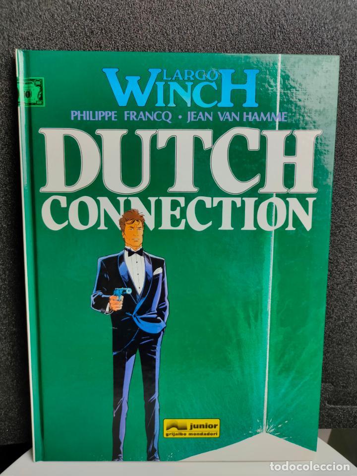 LARGO WINCH - Nº 6 - DUTCH CONNECTION - FRANCQ, VAN HAMME - GRIJALBO - TAPA DURA (Tebeos y Comics - Grijalbo - Largo Winch)