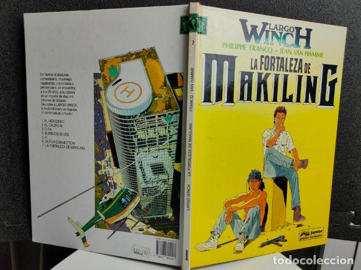 Cómics: LARGO WINCH - Nº 7 - LA FORTALEZA DE MAKILING - FRANCQ, VAN HAMME - GRIJALBO - TAPA DURA - Foto 2 - 231209845