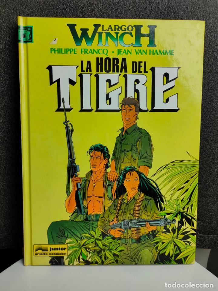 LARGO WINCH - Nº 8 - LA HORA DEL TIGRE - FRANCQ, VAN HAMME - GRIJALBO - TAPA DURA (Tebeos y Comics - Grijalbo - Largo Winch)