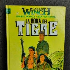 Cómics: LARGO WINCH - Nº 8 - LA HORA DEL TIGRE - FRANCQ, VAN HAMME - GRIJALBO - TAPA DURA. Lote 231210015