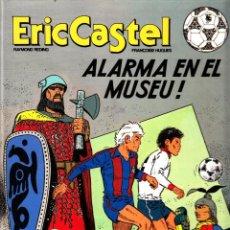 """Cómics: COMIC ERIC CASTEL EDICIÓN AÑOS 80 NUMERO 14 """"ALARMA EN EL MUSEU"""" CATALÁN. Lote 231541255"""