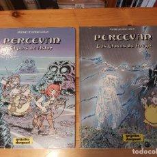 Cómics: * PERCEVAN Nº 4 Y 6 / FAUCHE, LÉTURGIE, LUGUY * GRIJALBO DARGAUD 1987 *. Lote 231741960