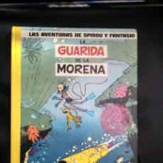 Cómics: LAS AVENTURAS DE SPIROU Y FANTASIO LA GUARIDA DE LA MORENA. Lote 231774335