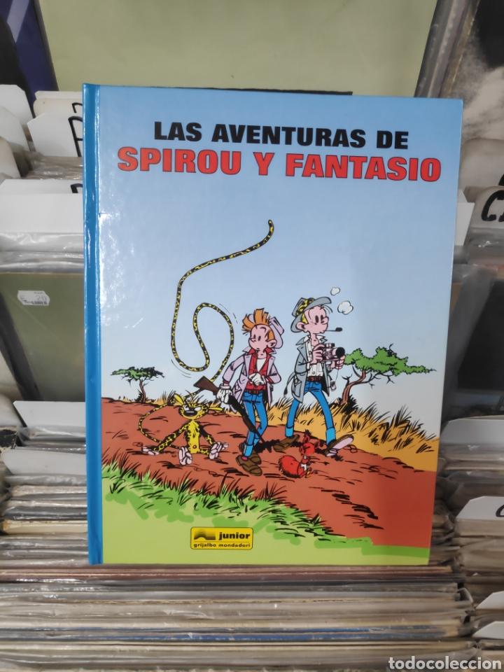 LAS AVENTURAS DE SPIROU Y FANTASIO TOMO 1 (Tebeos y Comics - Grijalbo - Spirou)