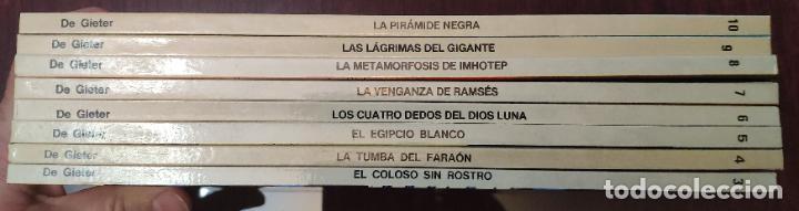 Cómics: PAPYRUS (COLECCION COMPLETA) - DE GIETER (GRIJALBO 1989) - Foto 3 - 232329300