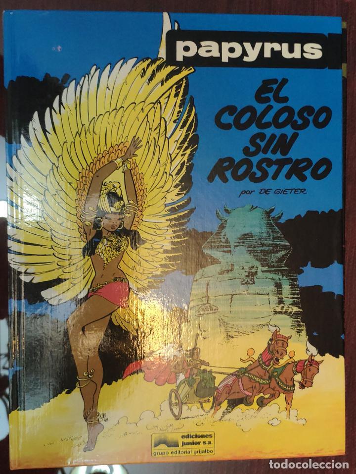 PAPYRUS (COLECCION COMPLETA) - DE GIETER (GRIJALBO 1989) (Tebeos y Comics - Grijalbo - Papyrus)