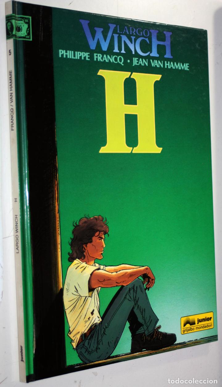 LARGO WINCH (DE VAN HAMME & FRANCQ.) ---H--- TOMO TAPA DURA Nº 5 (Tebeos y Comics - Grijalbo - Largo Winch)