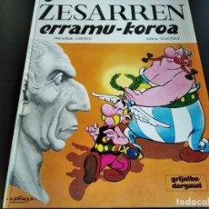 Cómics: ASTERIX: ZESARREN ERRAMU-KOROA. Lote 232784350