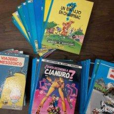 Cómics: LAS AVENTURAS DE SPIROU Y FANTASIO. 42 NÚMEROS. EDICIONES JUNIOR. Lote 233056495