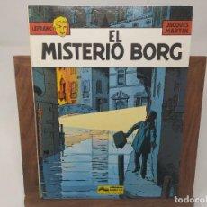 Cómics: LEFRANC Nº 3 MISTERIO BORG ( J. MARTIN CHAILLET) JUNIOR GRIJALBO PRIMERA EDICIÓN 1986. Lote 233060650