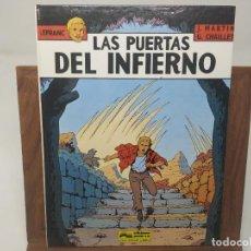 Cómics: LEFRANC Nº 5 LAS PUERTAS DEL INFIERNO ( J. MARTIN CHAILLET) JUNIOR GRIJALBO PRIMERA EDICIÓN 1987. Lote 233063995