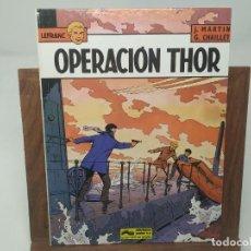 Cómics: LEFRANC Nº 6 OPERACIÓN THOR( J. MARTIN CHAILLET) JUNIOR GRIJALBO PRIMERA EDICIÓN 1987. Lote 233064205