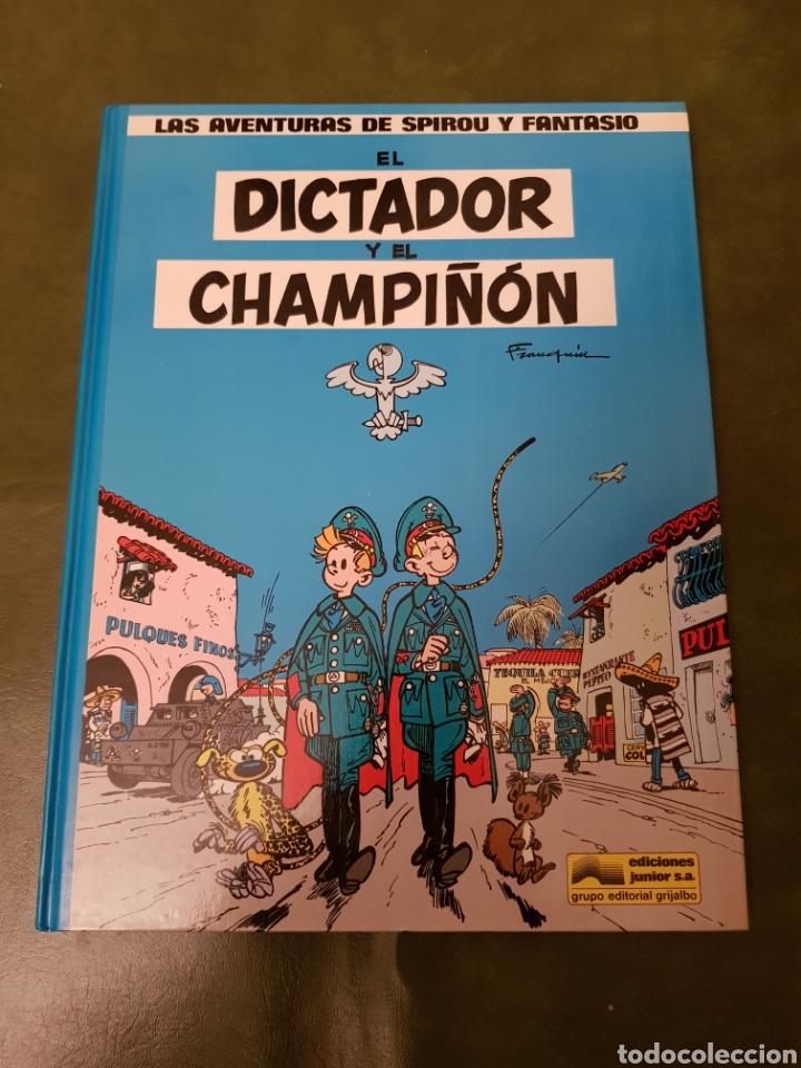 EL DICTADOR Y EL CHAMPIÑÓN - SPIROU Y FANTASIO (Tebeos y Comics - Grijalbo - Spirou)