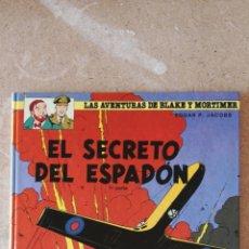 Cómics: LAS AVENTURAS DE BLAKE Y MORTIMER N°9 - EL SECRETO DEL ESPADÓN 1. Lote 233359815