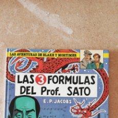 Cómics: LAS AVENTURAS DE BLAKE Y MORTIMER N°8 - LAS 3 FÓRMULAS DEL PROF. SATO. Lote 233360365