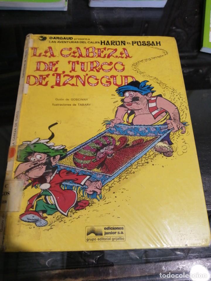 CÓMIC, LAS AVENTURAS DEL GRAN VISIR IZNOGUD, LA CABEZA DE TURCO, JUNIOR 1979 (Tebeos y Comics - Grijalbo - Iznogoud)