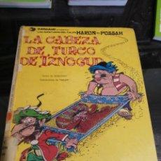 Cómics: CÓMIC, LAS AVENTURAS DEL GRAN VISIR IZNOGUD, LA CABEZA DE TURCO, JUNIOR 1979. Lote 233656235