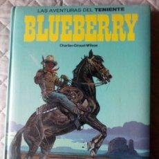 Cómics: LAS AVENTURAS DEL TENIENTE BLUEBERRY TOMO 7.TAPAS ACOLCHADAS EDICIONES JUNIOR.. Lote 233691220
