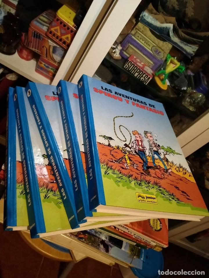 LAS AVENTURAS DE SPIROU Y FANTASIO 5 TOMOS JUNIOR (Tebeos y Comics - Grijalbo - Spirou)