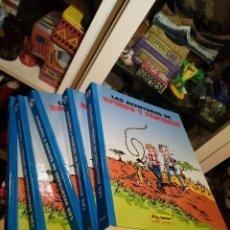 Comics: LAS AVENTURAS DE SPIROU Y FANTASIO 5 TOMOS JUNIOR. Lote 233869600
