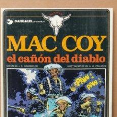 Cómics: MC COY EL CAÑÓN DEL DIABLO VOL 9 GOURMELEN Y HERNÁNDEZ-PALACIOS GRIJALBO TAPA DURA. Lote 233960485