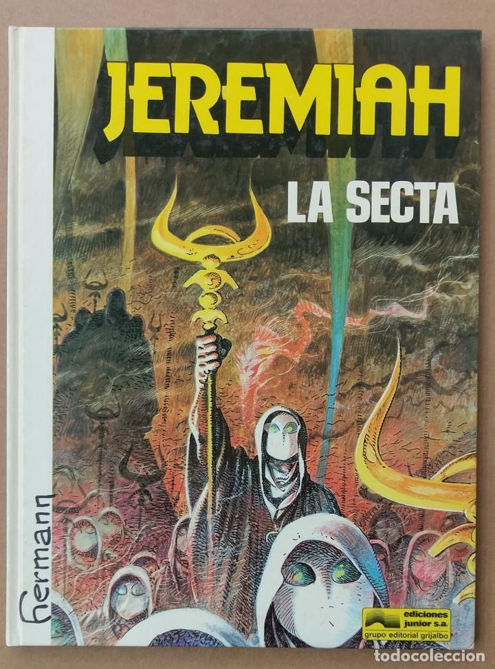 JEREMIAH LA SECTA DE HERMANN GRIJALBO TAPA DURA (Tebeos y Comics - Grijalbo - Jeremiah)