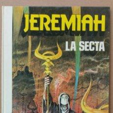Comics: JEREMIAH LA SECTA DE HERMANN GRIJALBO TAPA DURA. Lote 233981735