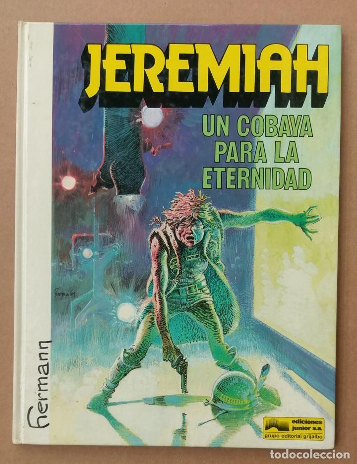 JEREMIAH UNA COBAYA PARA LA ETERNIDAD DE HERMANN GRIJALBO TAPA DURA (Tebeos y Comics - Grijalbo - Jeremiah)