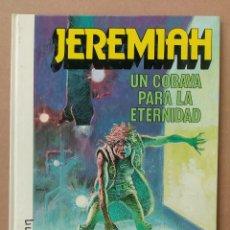 Cómics: JEREMIAH UNA COBAYA PARA LA ETERNIDAD DE HERMANN GRIJALBO TAPA DURA. Lote 233981840