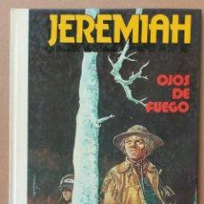 Cómics: JEREMIAH OJOS DE FUEGO DE HERMANN GRIJALBO TAPA DURA. Lote 233981945