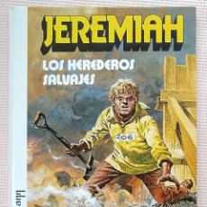 Comics: JEREMIAH LOS HEREDEROS SALVAJES DE HERMANN GRIJALBO TAPA DURA. Lote 233982105