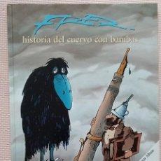 Cómics: FRED, HISTORIA DEL CUERVO CON BAMBAS GRIJALBO TAPA DURA. Lote 233987435