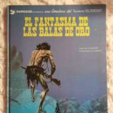 Comics: UNA AVENTURA DEL TENIENTE BLUEBERRY - EL FANTASMA DE LAS BALAS DE ORO - N. 2. Lote 234023885