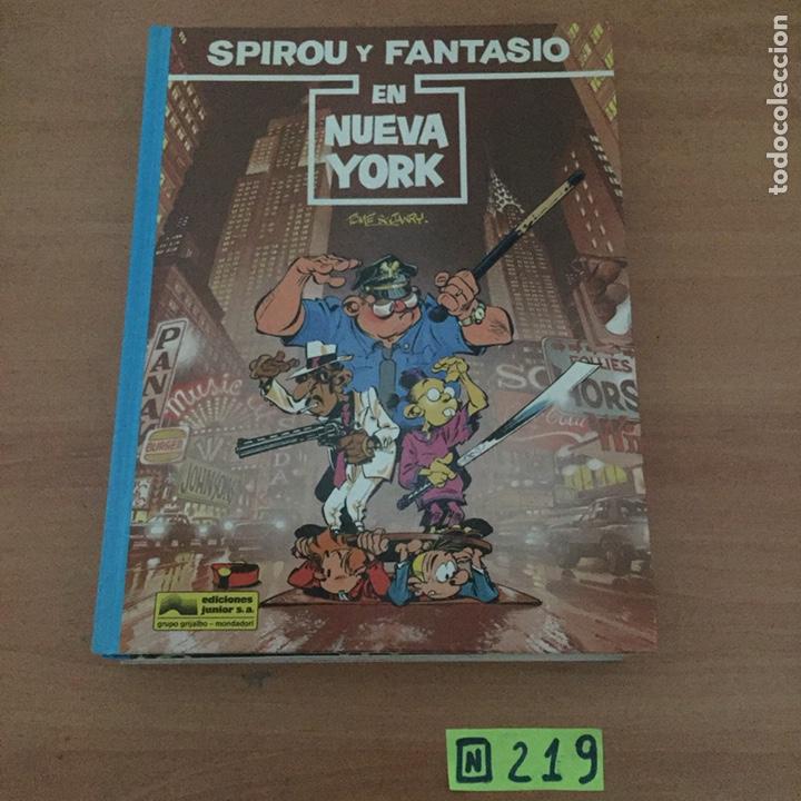 SPIROU Y FANTASIO : EN NUEVA YORK... TAPA DURA....JUNIOR (Tebeos y Comics - Grijalbo - Spirou)
