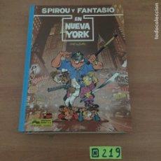 Cómics: SPIROU Y FANTASIO : EN NUEVA YORK... TAPA DURA....JUNIOR. Lote 234028405