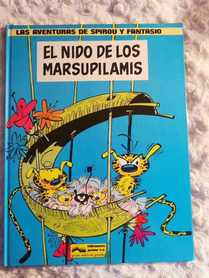 LAS AVENTURAS DE SPIROU Y FANTASIO - EL NIDO DE LOS MARSUPILAMIS - N. 10 (Tebeos y Comics - Grijalbo - Spirou)