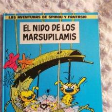 Comics: LAS AVENTURAS DE SPIROU Y FANTASIO - EL NIDO DE LOS MARSUPILAMIS - N. 10. Lote 234045920