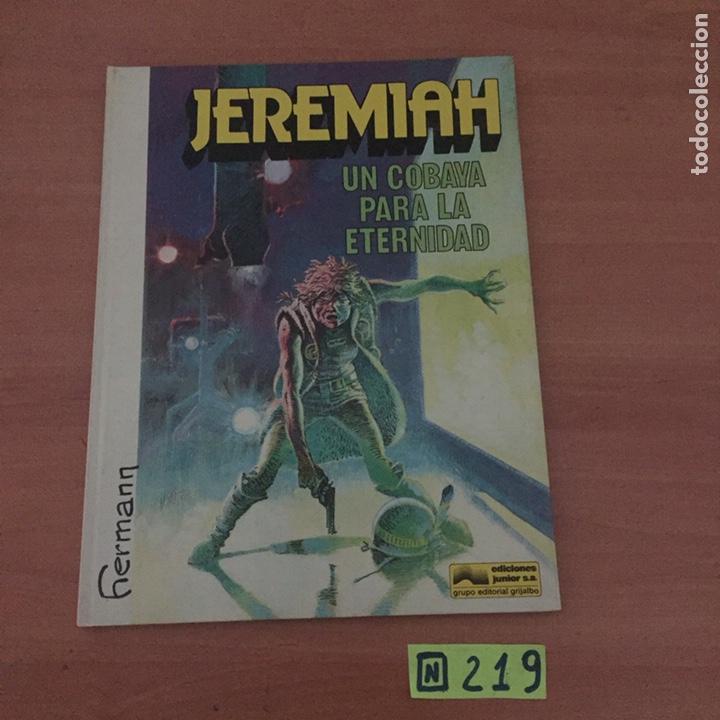 JEREMIAH UN COBAYA PARA LA ETERNIDAD (Tebeos y Comics - Grijalbo - Otros)