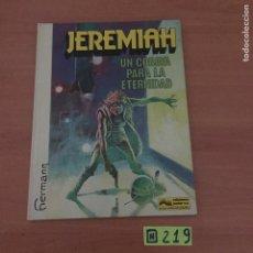 Cómics: JEREMIAH UN COBAYA PARA LA ETERNIDAD. Lote 234130460